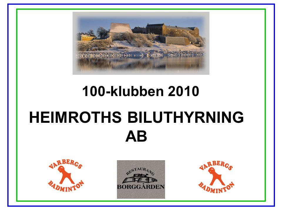 HEIMROTHS BILUTHYRNING AB