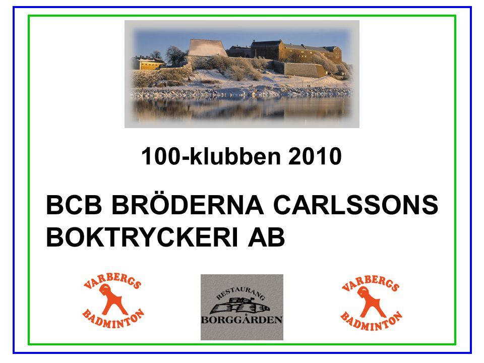 BCB BRÖDERNA CARLSSONS BOKTRYCKERI AB