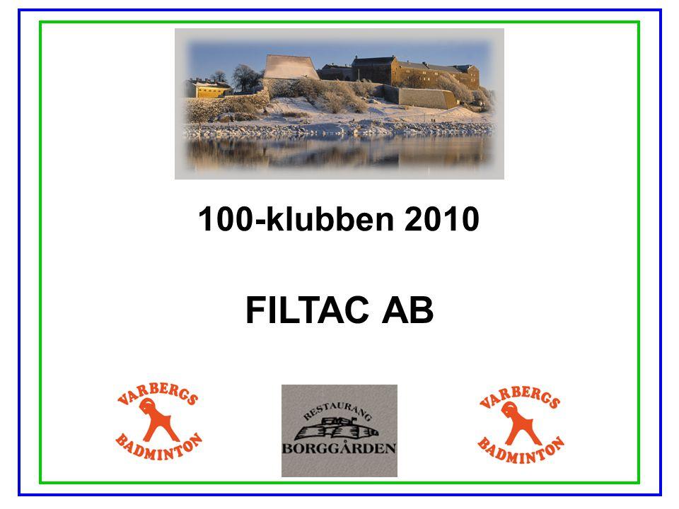 100-klubben 2010 FILTAC AB
