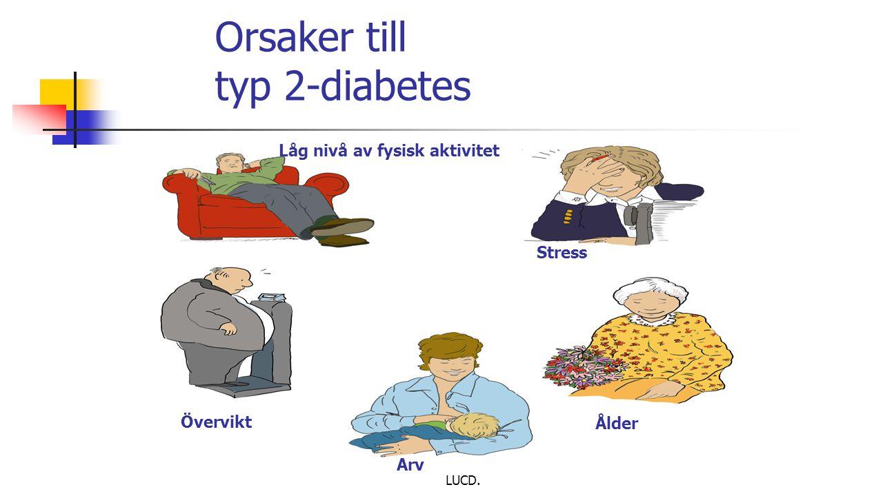Orsaker till typ 2-diabetes