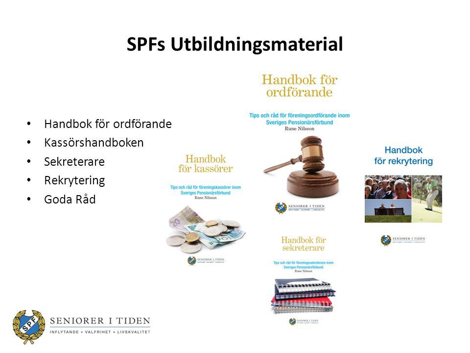 SPFs Utbildningsmaterial