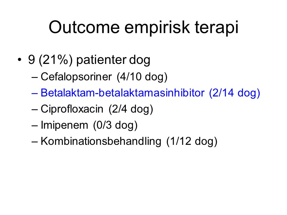 Outcome empirisk terapi