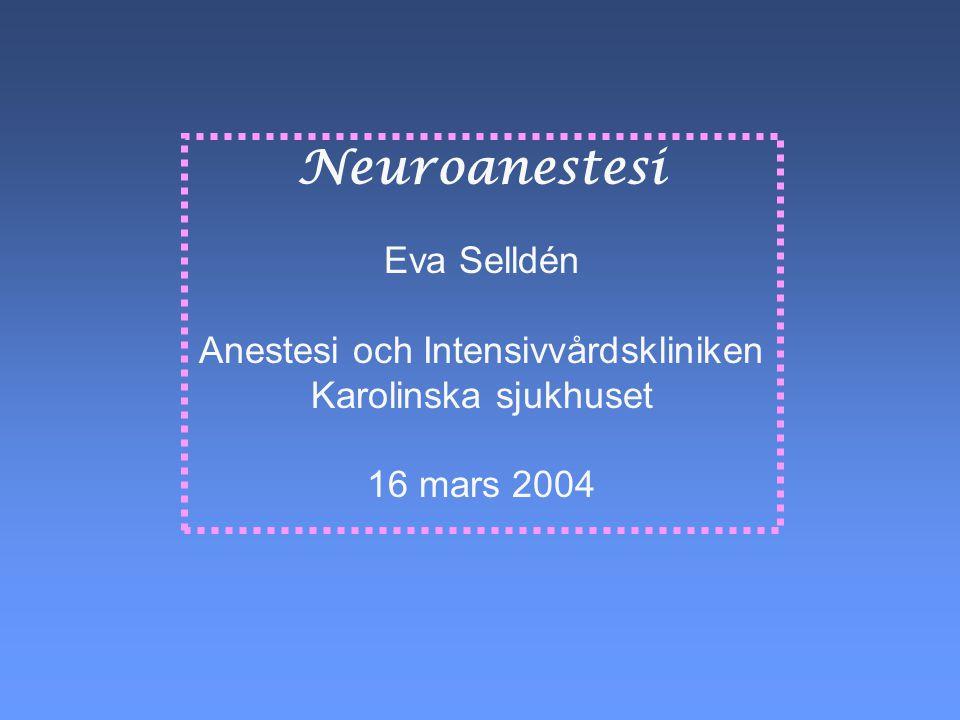 Anestesi och Intensivvårdskliniken