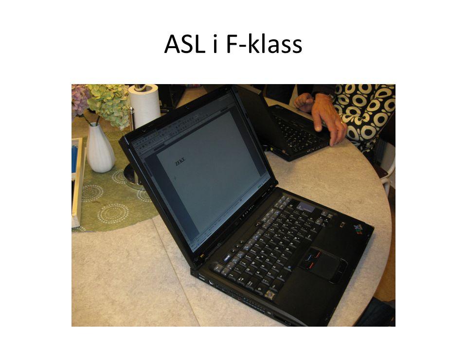 ASL i F-klass