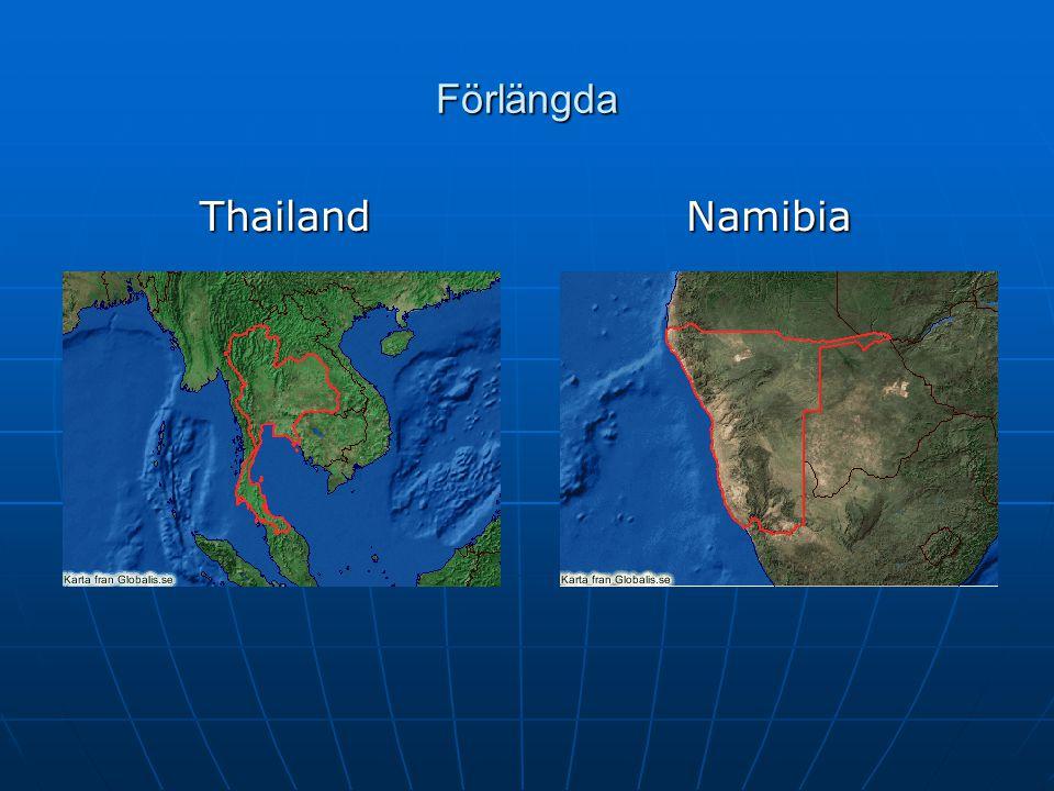 Förlängda Thailand Namibia