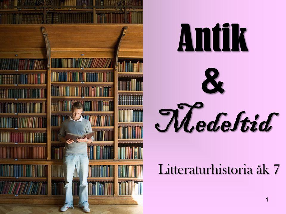 Litteraturhistoria åk 7