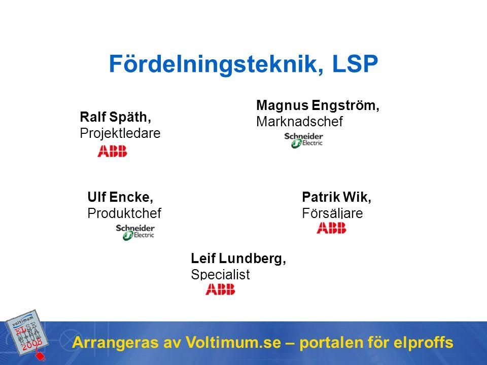 Fördelningsteknik, LSP
