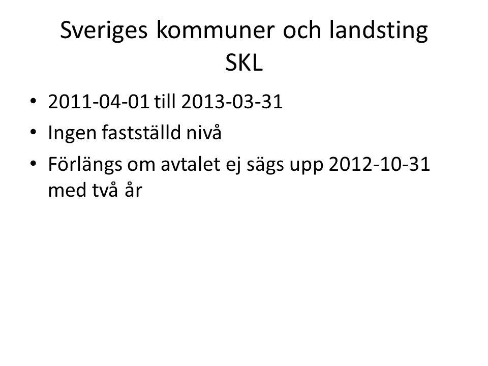 Sveriges kommuner och landsting SKL