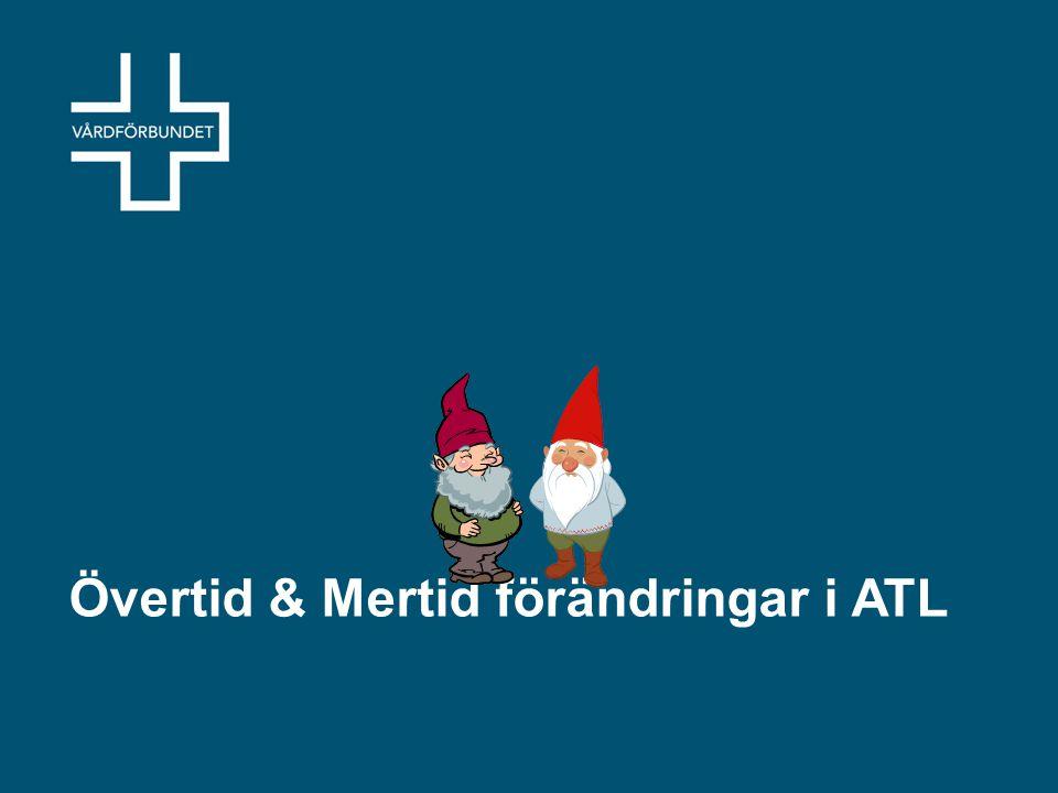Övertid & Mertid förändringar i ATL