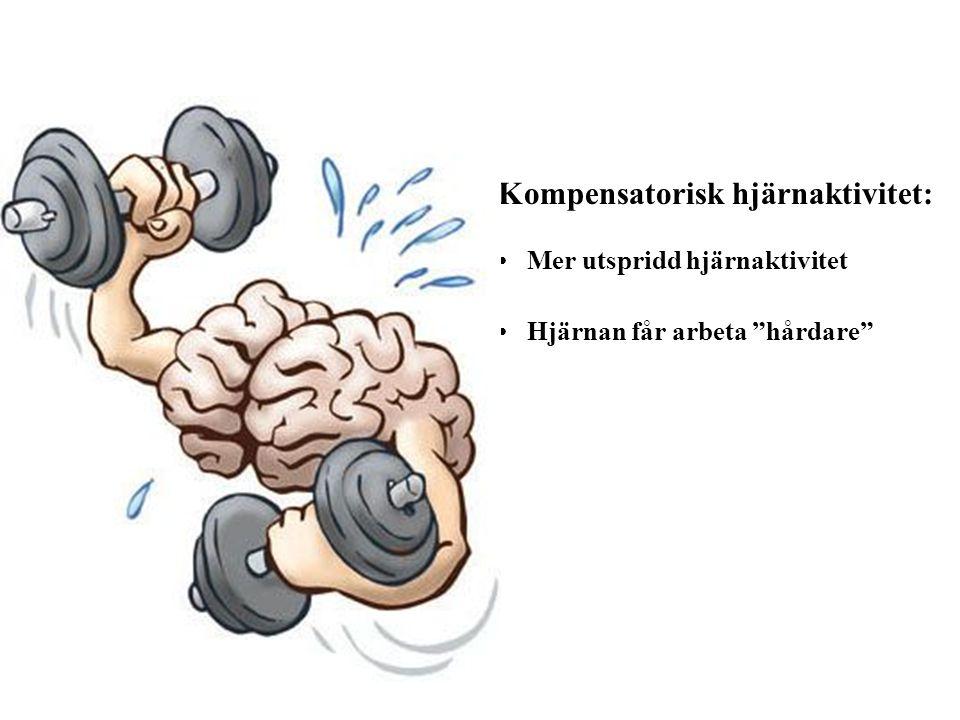 Kompensatorisk hjärnaktivitet: