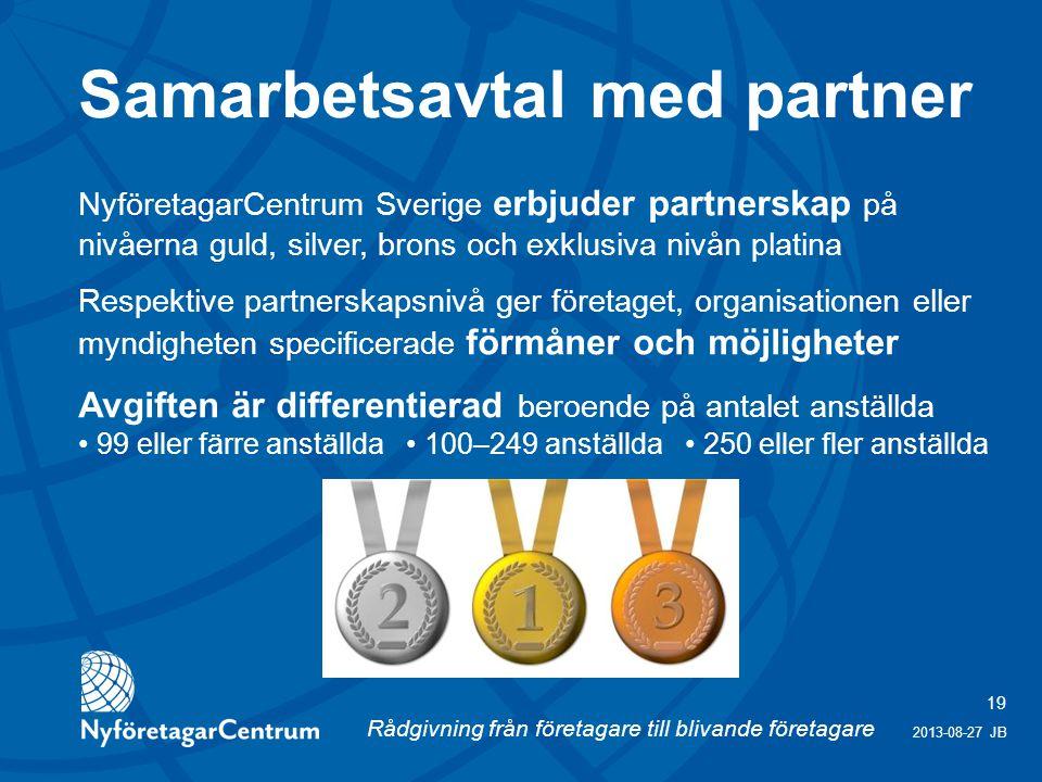 Samarbetsavtal med partner