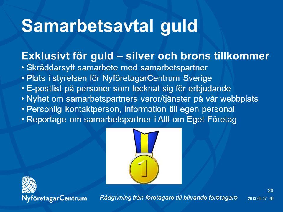 Samarbetsavtal guld