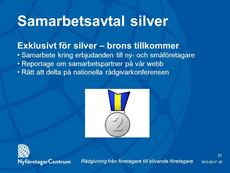 Samarbetsavtal silver