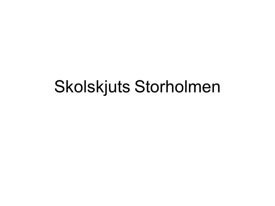 Skolskjuts Storholmen