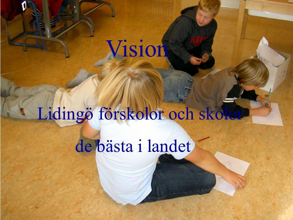 Vision Lidingö förskolor och skolor de bästa i landet
