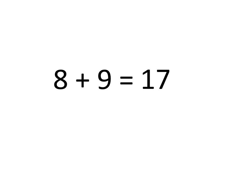 17 8 + 9 =