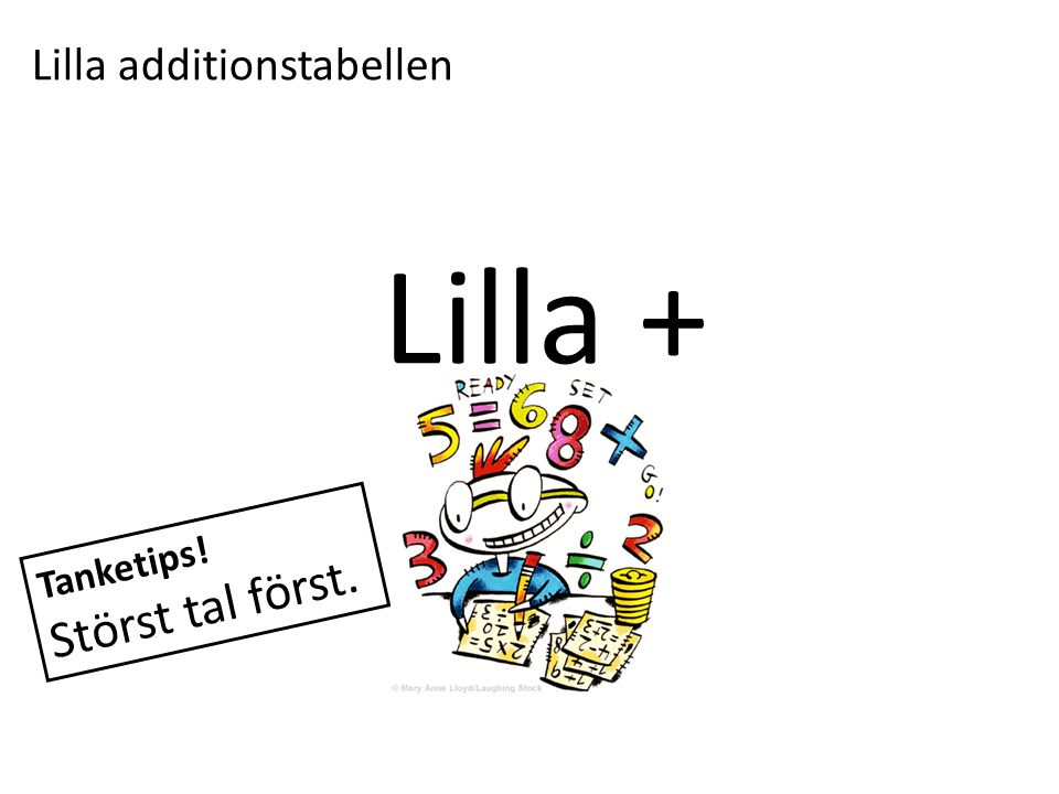 Lilla additionstabellen