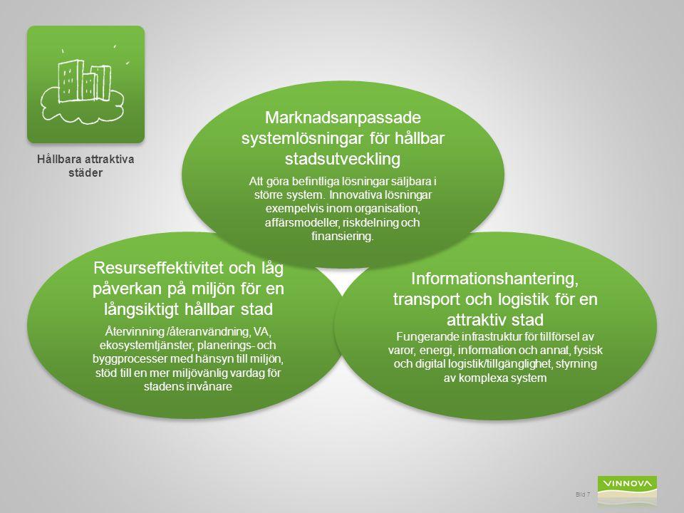 Hållbara attraktiva städer