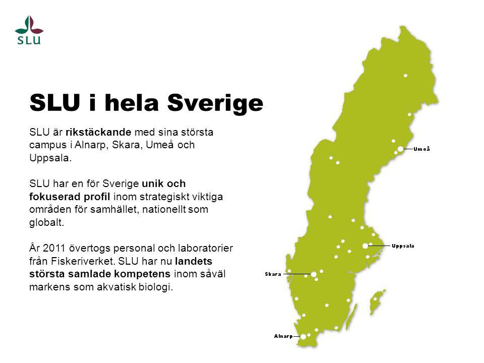 SLU i hela Sverige