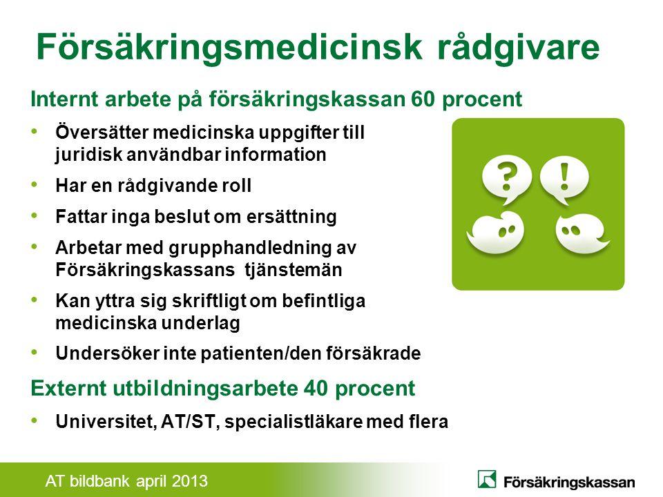 Försäkringsmedicinsk rådgivare