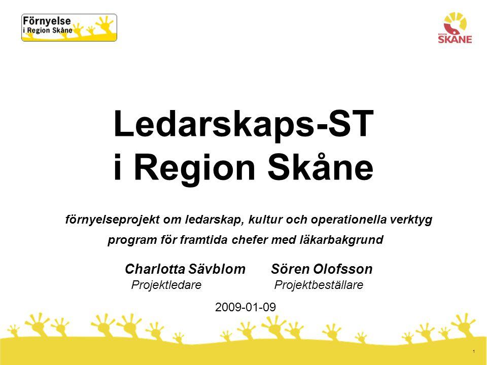 Charlotta Sävblom Sören Olofsson Projektledare Projektbeställare