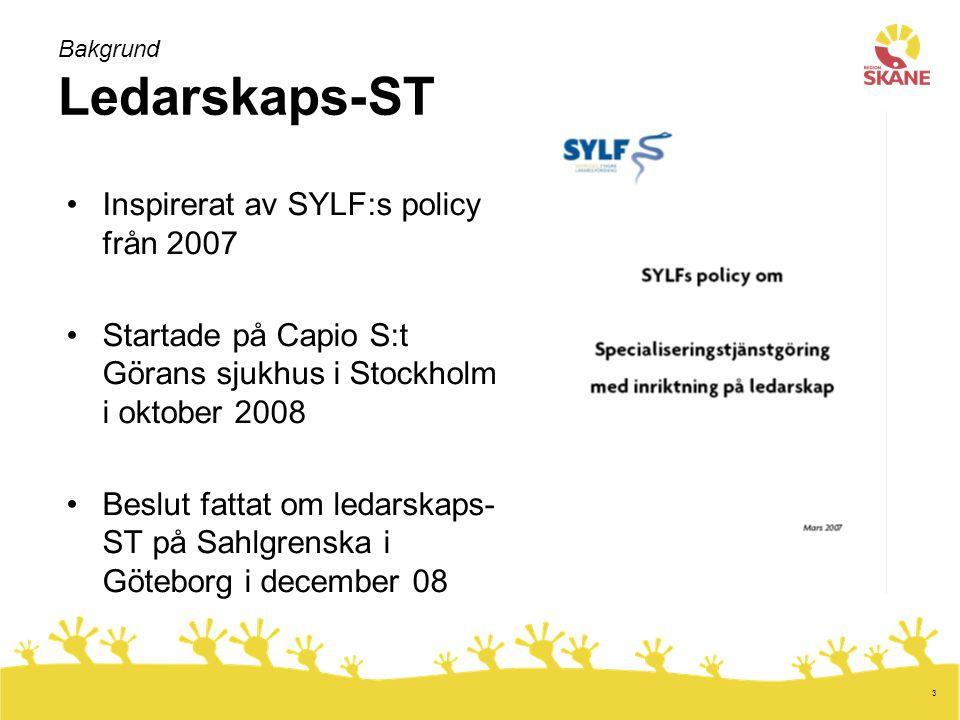 Bakgrund Ledarskaps-ST