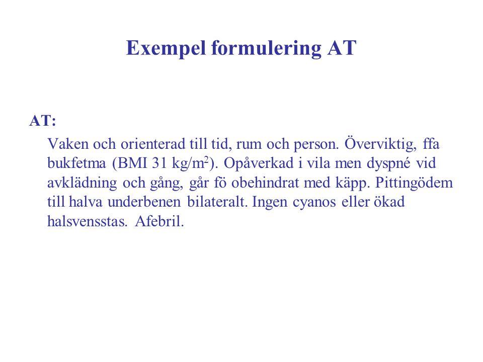 Exempel formulering AT