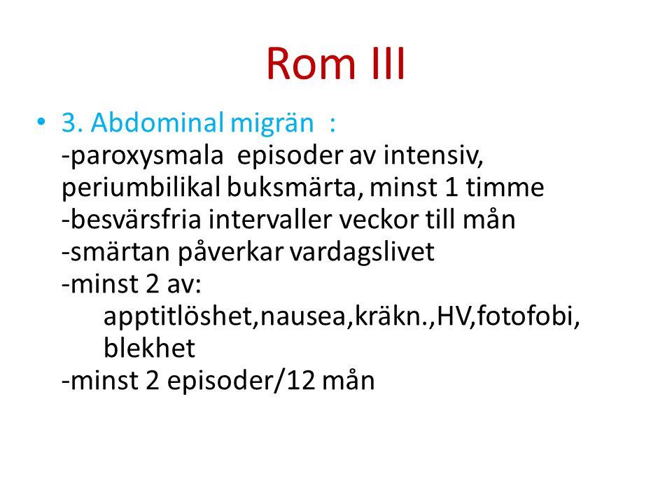 Rom III