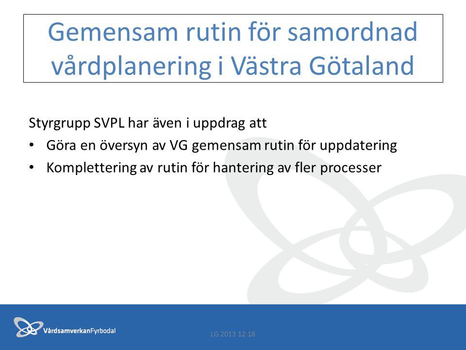 Gemensam rutin för samordnad vårdplanering i Västra Götaland