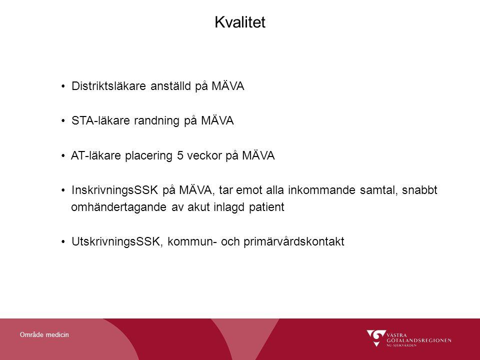 Kvalitet Distriktsläkare anställd på MÄVA STA-läkare randning på MÄVA