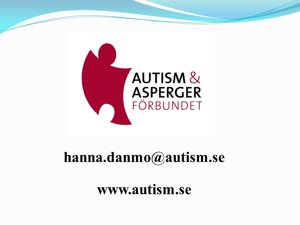 hanna.danmo@autism.se www.autism.se