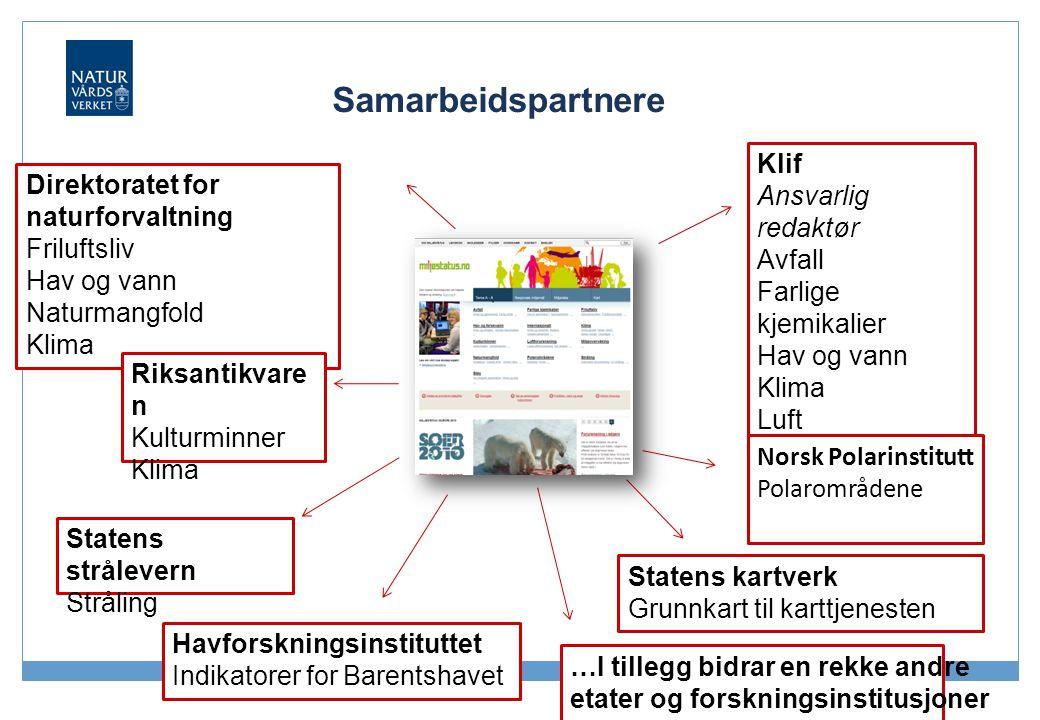 Samarbeidspartnere Klif Ansvarlig redaktør