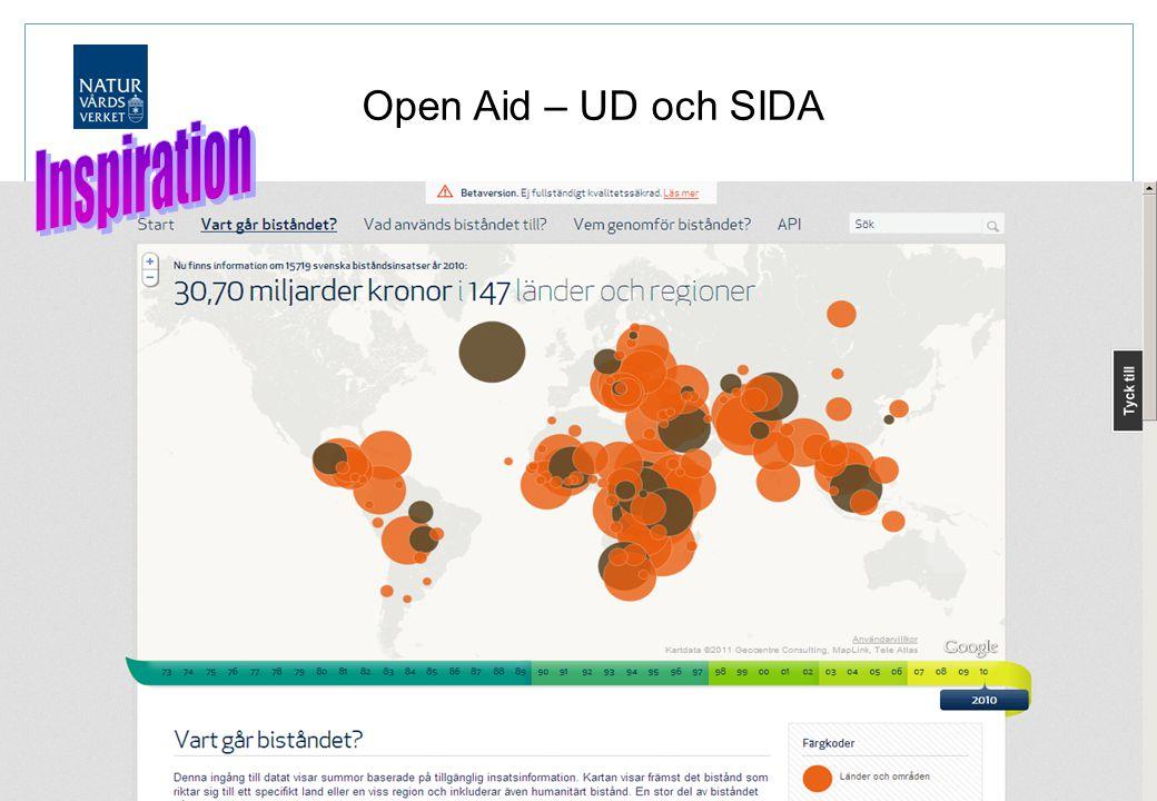 Open Aid – UD och SIDA Inspiration