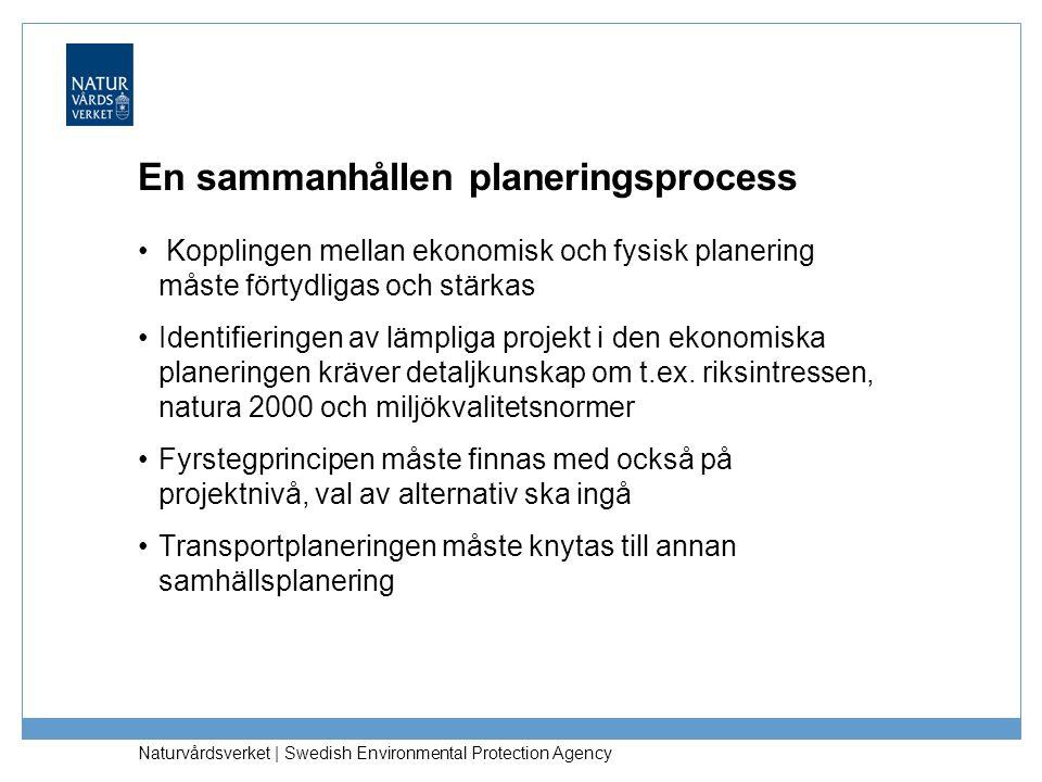 En sammanhållen planeringsprocess