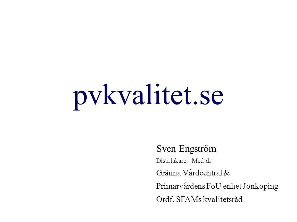 pvkvalitet.se Sven Engström Gränna Vårdcentral &