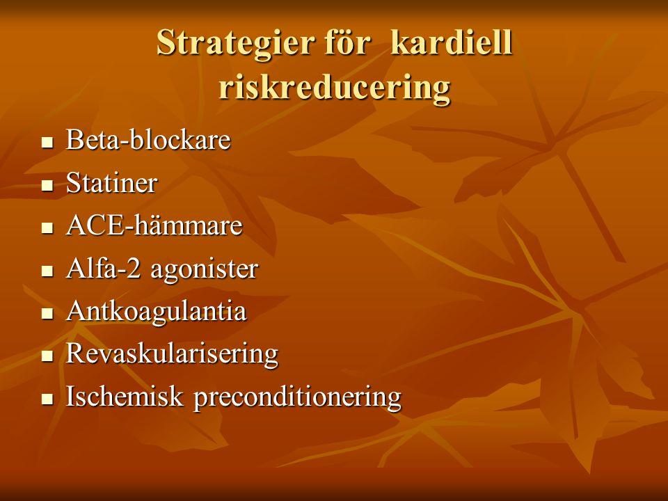 Strategier för kardiell riskreducering