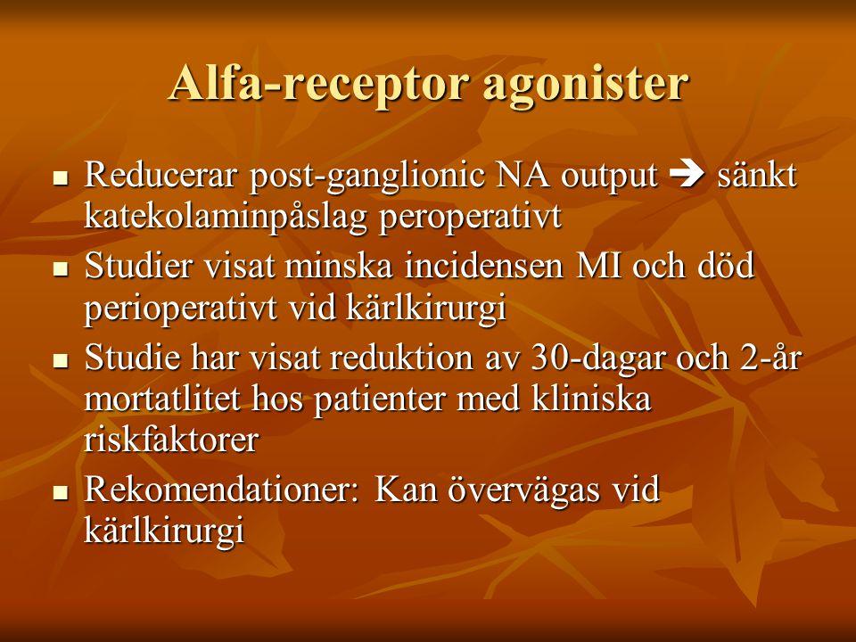 Alfa-receptor agonister