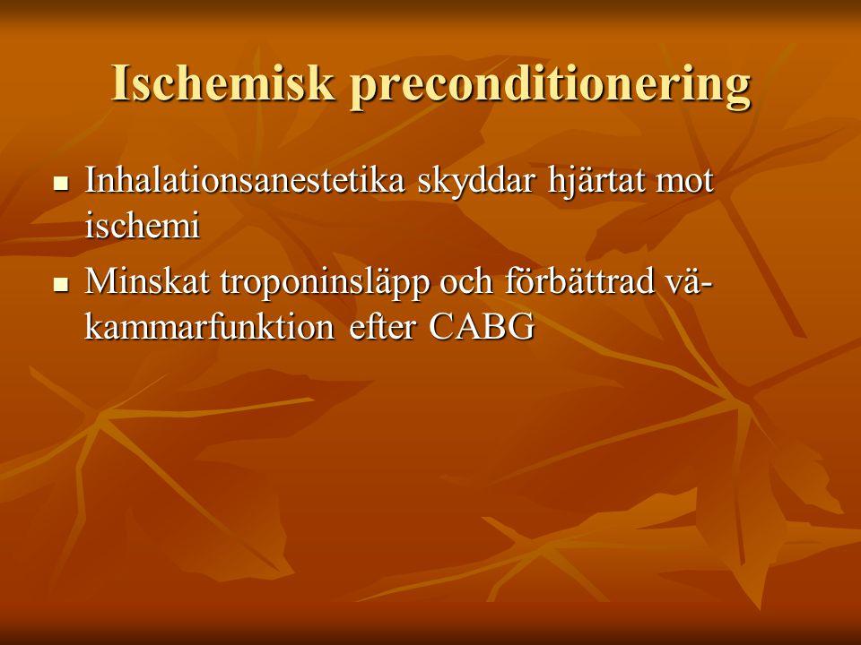 Ischemisk preconditionering