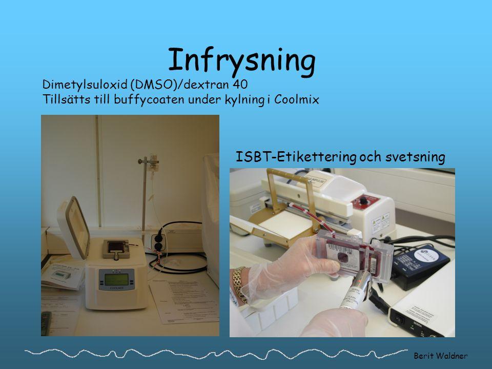 ISBT-Etikettering och svetsning