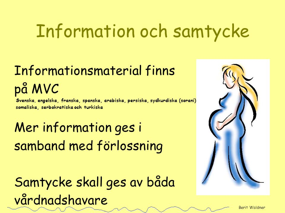 Information och samtycke