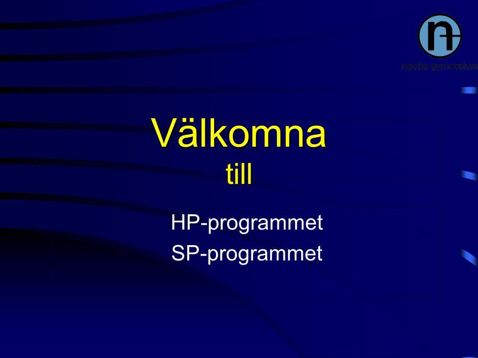 HP-programmet SP-programmet