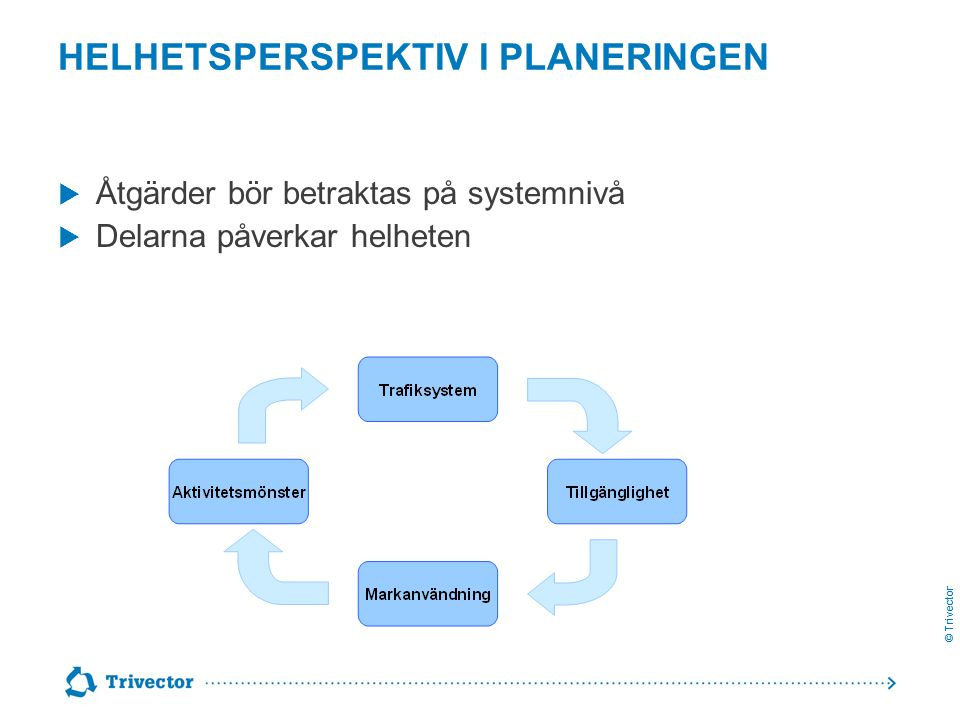 Helhetsperspektiv i planeringen