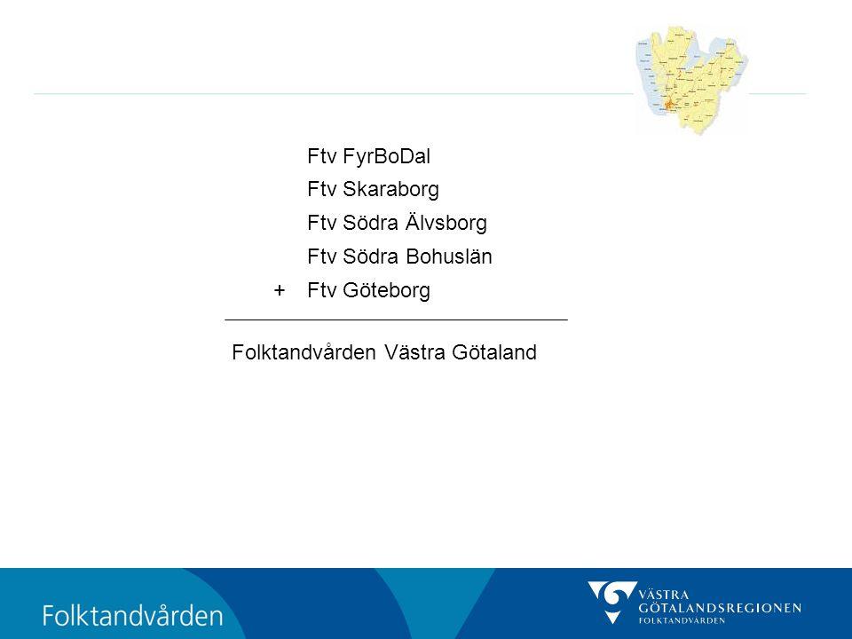 Ftv FyrBoDal Ftv Skaraborg. Ftv Södra Älvsborg. Ftv Södra Bohuslän.