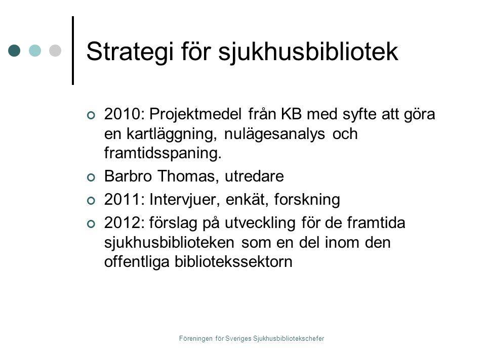 Strategi för sjukhusbibliotek