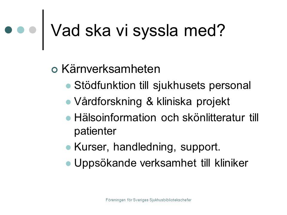 Föreningen för Sveriges Sjukhusbibliotekschefer