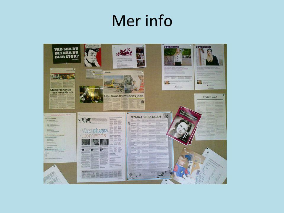 Mer info