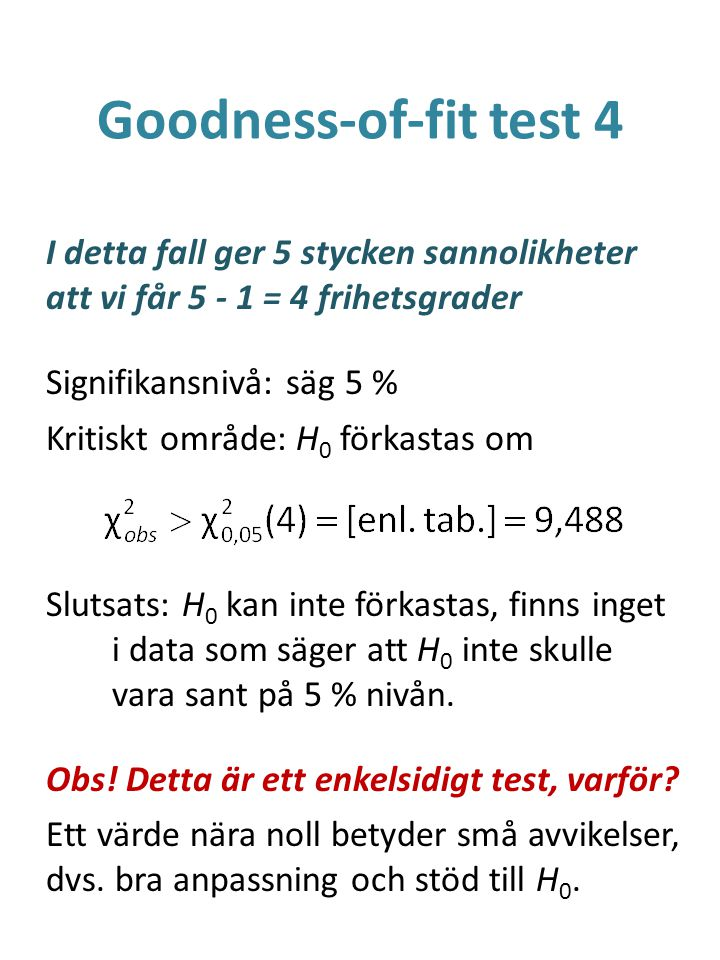 Goodness-of-fit test 4