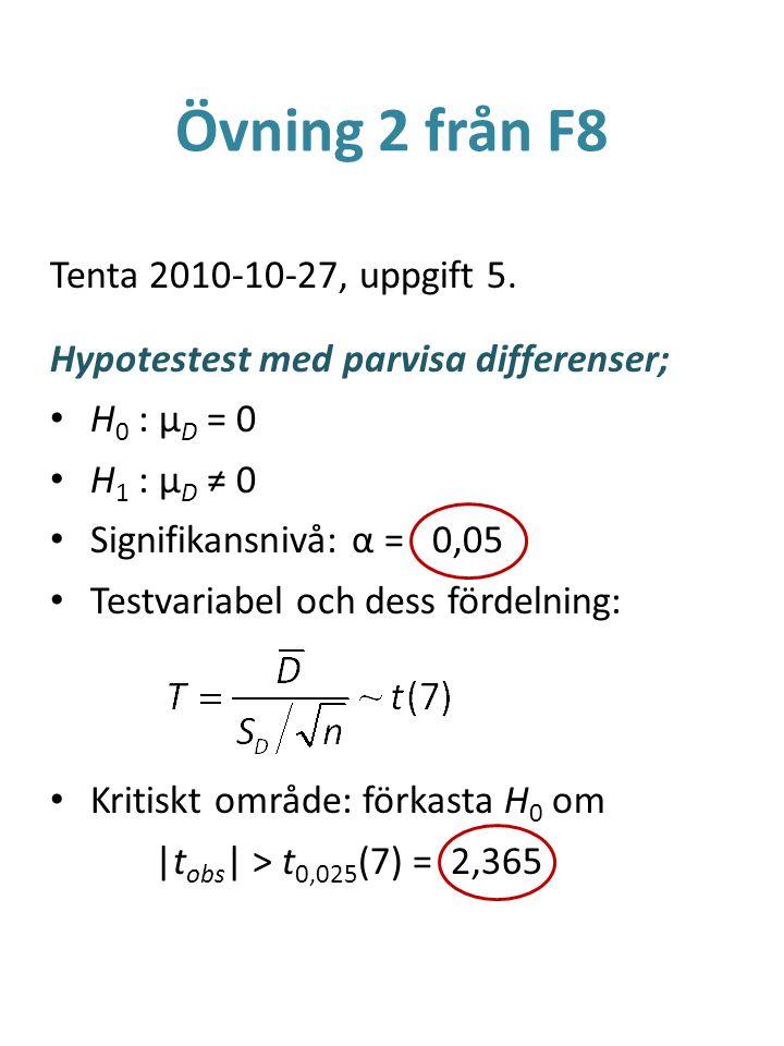 Övning 2 från F8 Tenta 2010-10-27, uppgift 5.