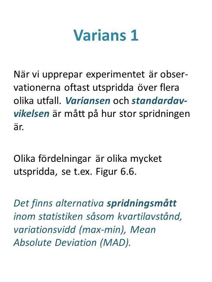 Varians 1