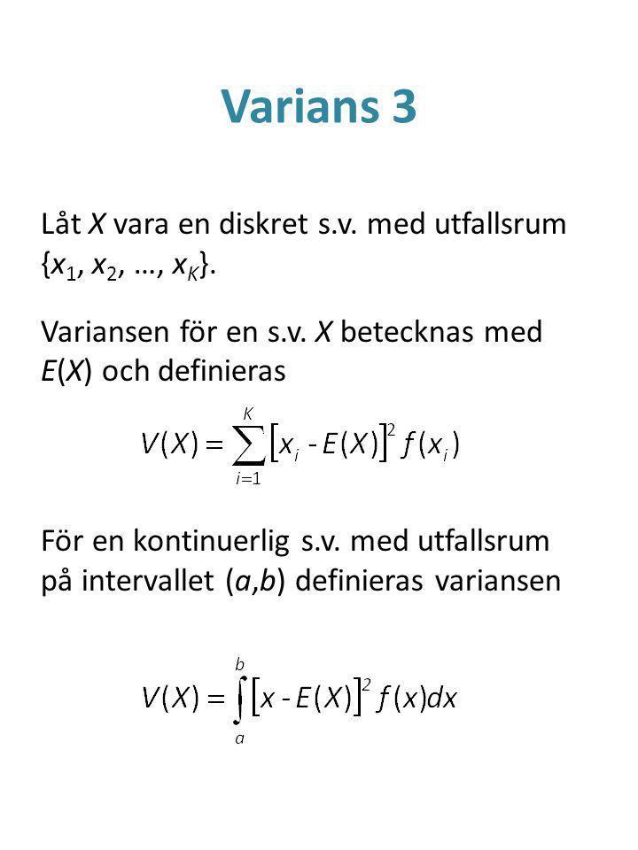 Varians 3